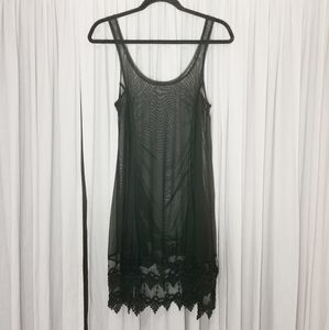 NWOT Sympli Nylon Mesh Over Dress